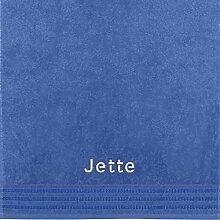 Erwin Müller Handtuch mit Namen Jette Bestickt