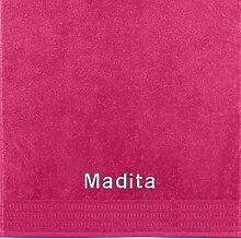 Erwin Müller Handtuch mit Namen Madita Bestickt