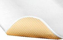 Erwin Müller Matratzenschoner Textilfaser weiss Größe 100x200 cm