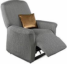 Erwin Müller Stretchbezug grau Größe Sessel