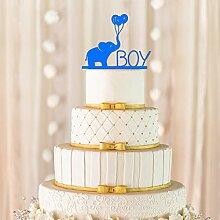 Es ist ein Junge Cake Topper, Baby Cake Topper,