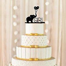 Es ist ein Mädchen Cake Topper, Baby-Dusche Cake