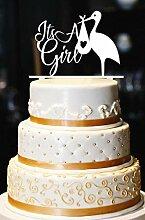 Es ist ein Mädchen Cake Topper, Storch Cake