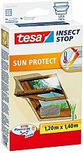 esa Fliegengitter für Dachfenster, mit Sonnenschutz, beste tesa Qualität, 1,2m x 1,4m