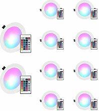 Esbaybulbs RGB Einbaustrahler Farbwechsel