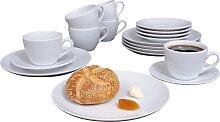 Eschenbach Kaffeeservice Simply Cup (18-tlg.),
