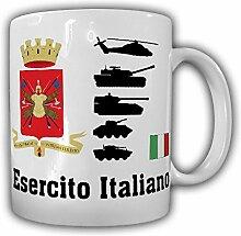 Esercito Italiano italienische Heer Italien Armee Militär Wappen Abzeichen Panzer Schützenpanzer - Tasse Kaffee Becher #18229