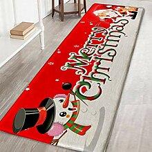 ESHOO Weihnachten Fussmatte Küchenteppich,