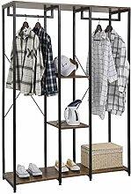 eSituro SGR0096 Kleiderständer Wäscheständer