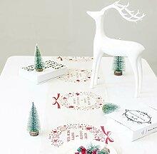 eSky24 Tischläufer Weihnachten, schöne