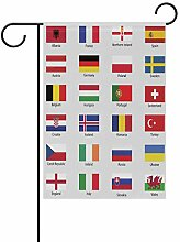 Eslifey Flagge für europäische Länder,