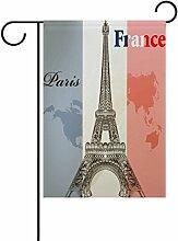 Eslifey Frankreich Eiffelturm doppelseitige