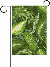 Eslifey grüne Blätter doppelseitig