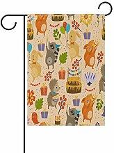 Eslifey Hedgehog Kaninchen Fuchs Waschbär