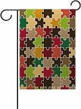Eslifey Herbst Stil Puzzle doppelseitige