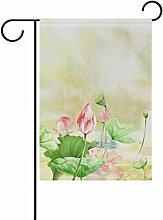 Eslifey Lotus Gemälde doppelseitige