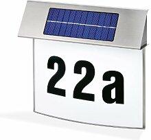 esotec SOLAR LED Hausnummernleuchte VISION