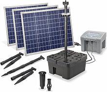Esotec - Solar Teichfilter Set 150/4000 + Akku LED