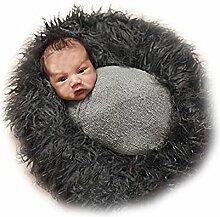 Espeedy 50 * 80 cm Faux Pelzdecke Neugeborenen
