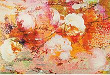 Esposa TEPPICH 140/200 cm Multicolor , Floral,
