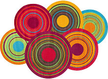 Esposa TEPPICH 140/200 cm Multicolor , Graphik,