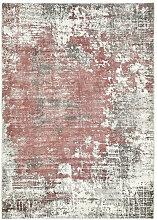 Esposa VINTAGE-TEPPICH , Rot , Abstraktes ,