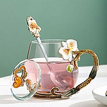 espresso mug Auslaufsichere Emaille Becher Glas