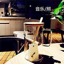 espresso mug Auslaufsichere Glas große Kapazität