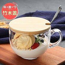 espresso mug Auslaufsichere Große Kapazität Glas