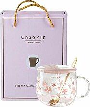 espresso mug Auslaufsichere Sakura Glas
