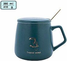 espresso mug Freizeitbecher Keramik Tasse Löffel