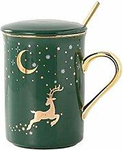 Espresso Tassen Keramik Sternenhimmel Becher Mit