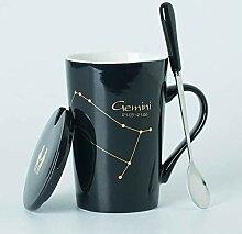 Espresso Tassen Keramikbecher 12 Sternbilder