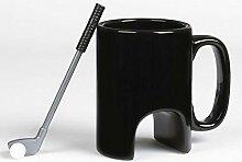 Espresso Tassen Kreative Golf Keramik Tasse Büro