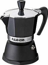 Espressokocher 6 Tassen Fashion schwarz