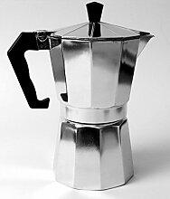 Espressokocher Aluminium 6 Tassen Classic Induktion