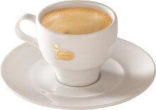 Espressotasse Classic Gold von JJ.Darboven mit