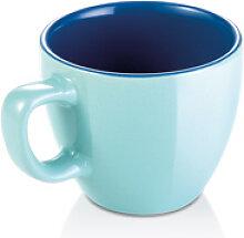 Espressotasse CREMA SHINE, azurblau