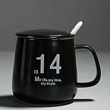 Espressotasse Geschenk Tee Ceramica Becher Deckel
