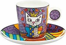 Espressotasse mit Untertasse Her Royal Highness