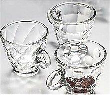 Espressotasse, Reise-Becher, Glasschalen-Becher,