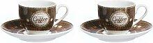 Espressotasse-Set Organic Coffee Ritzenhoff &