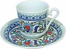 Espressotasse und Untersetzer, Design: Topkapi
