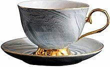 Espressotassen 1St. Marmorierte Keramik