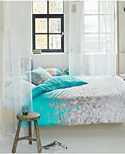 ESPRIT Bettwäsche Petals blau 240x220
