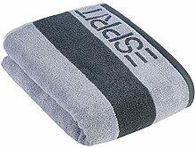 ESPRIT Handtuch Block Stripes | 3 Silver - 50 x 100