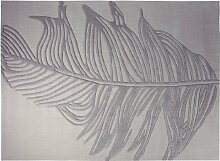 Esprit - Handtuft Feather - silber - 200 x 300 cm