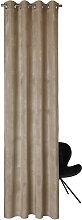 Esprit ÖSENSCHAL blickdicht 130/250 cm , Sand,