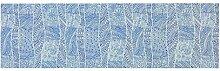 ESPRIT Tribal Tischläufer, Baumwolle, Blau, 140 x
