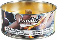 Esschert Design 3 Stück Citronella Kerze in Dose